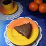 Шоколадный пирог с изюмом (постный)