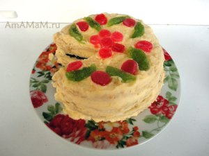 Что испечь на Пасху - простой рецепт торта