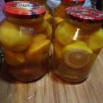 Рецепты консервирования персиков: наиболее