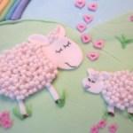 Овечки на Новый год (блюда в виде овцы, козы, барашка)