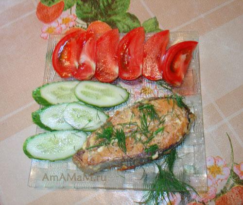 Что делать с горбушей - вкусный рецепт в духовке со сливками