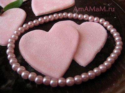 Сладкие подарки ко дню Святого Валентина! Сердечки из зефира
