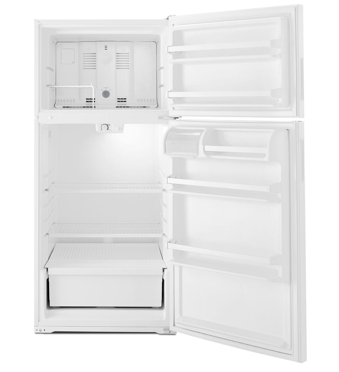 14 Cu Ft Refrigerator Amana 14 Cu Ft Top Freezer Refrigerator With Flexible Storage Options