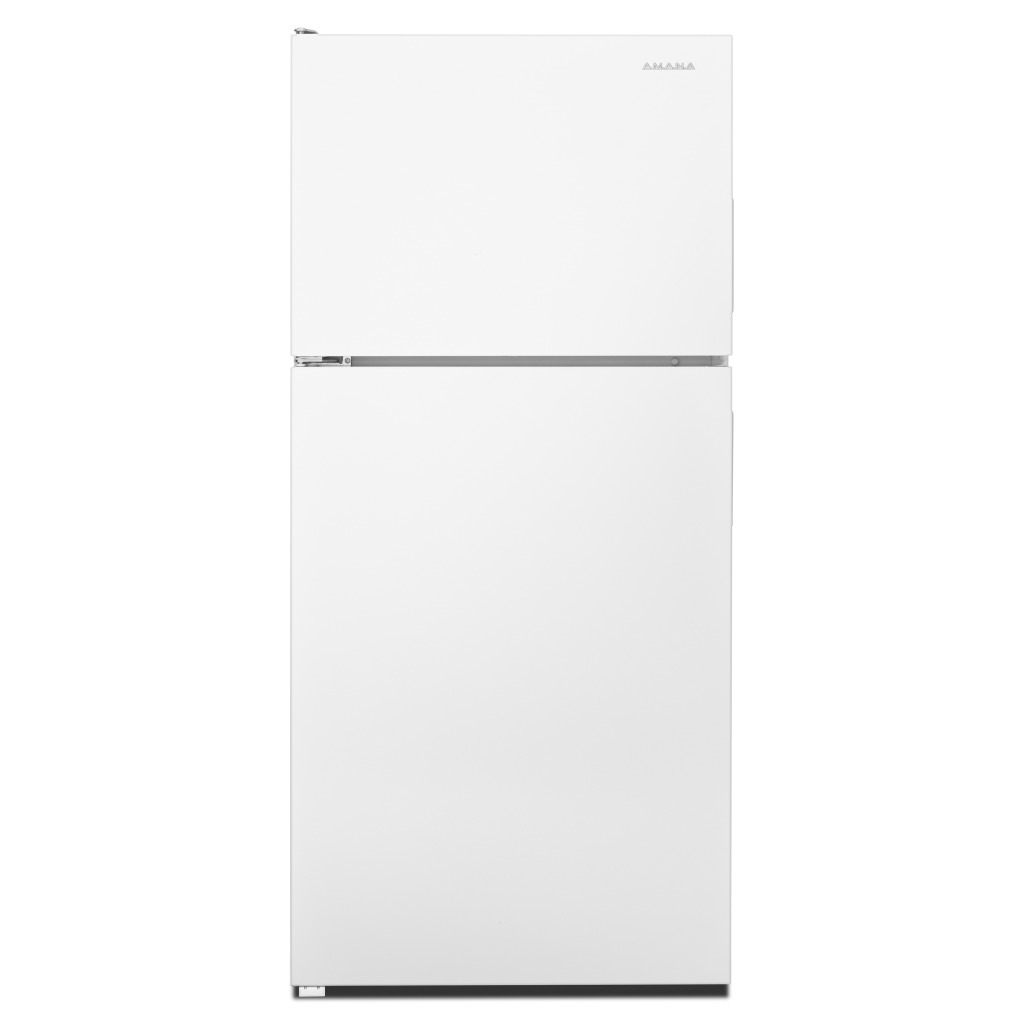 Whirlpool Appliances Canada Amana 30 Inch Wide Top Freezer Refrigerator With Glass Shelves 18 Cu Ft