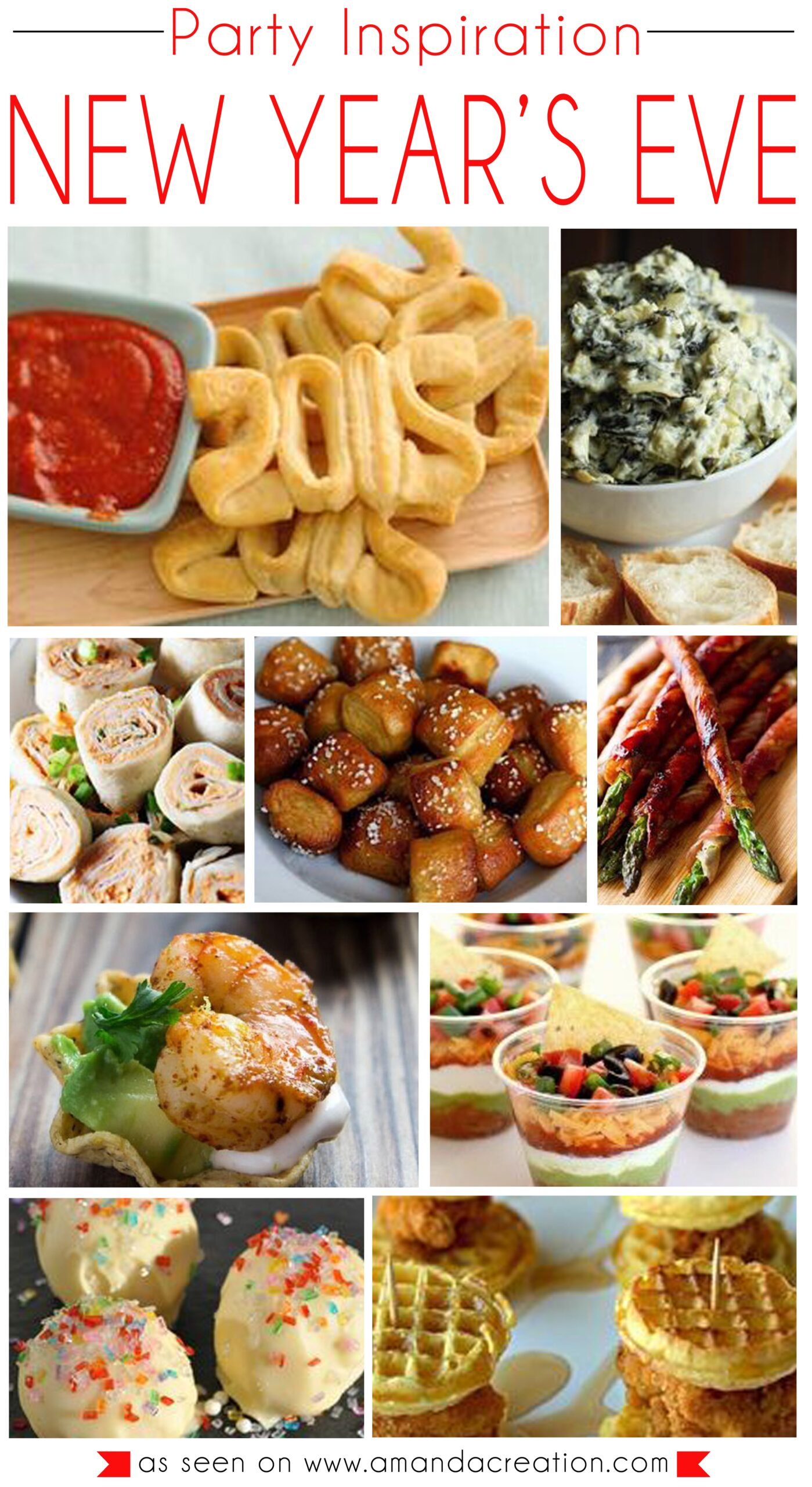 Good new year food recipes ltt the start of every good new years eve party is awesome food whether you serve forumfinder Gallery