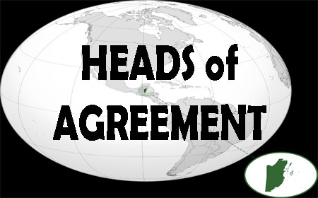 Heads of Agreement Amandala Newspaper - heads of agreement template free