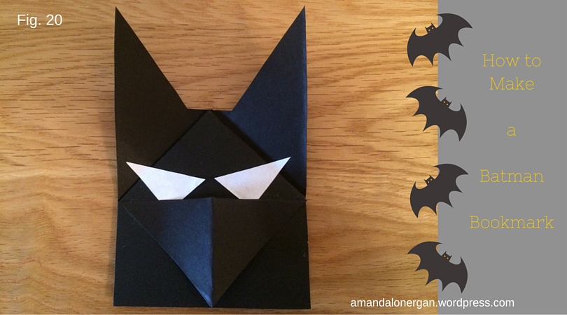 How to Make a Batman Bookmark Books for Children Blog