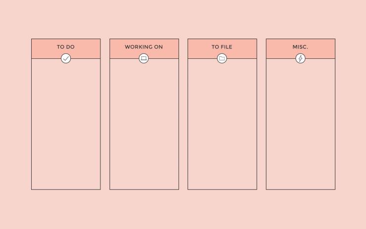 Desktop Wallpaper Organizer Coral Amanda Schoedel Creative