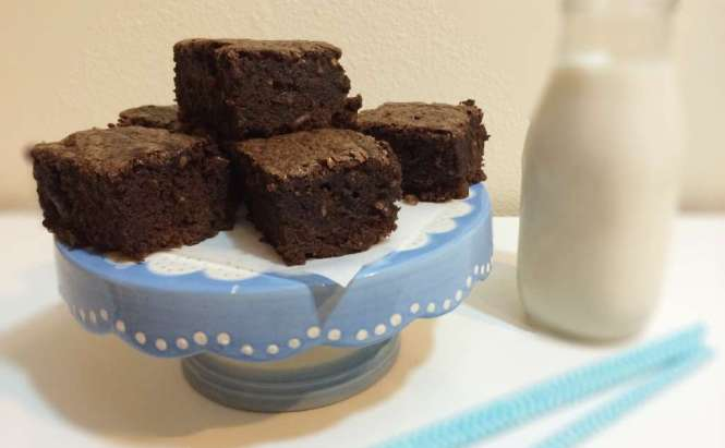 Salted Caramel Brownies by Amanda's Plate
