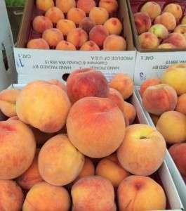 Washington Peaches