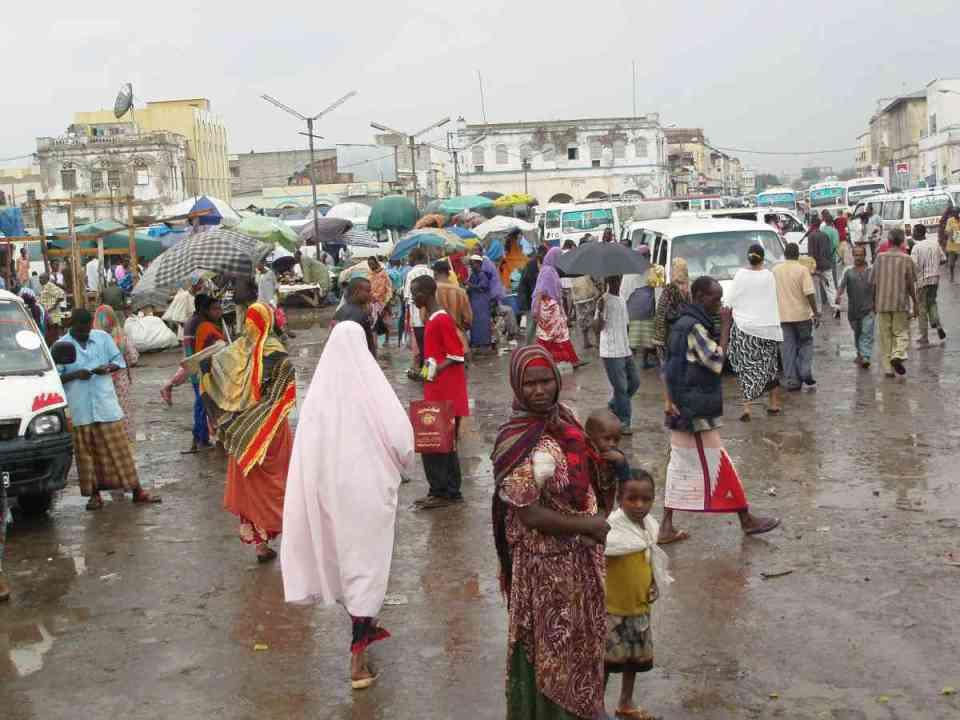 Mercado de Djibouti