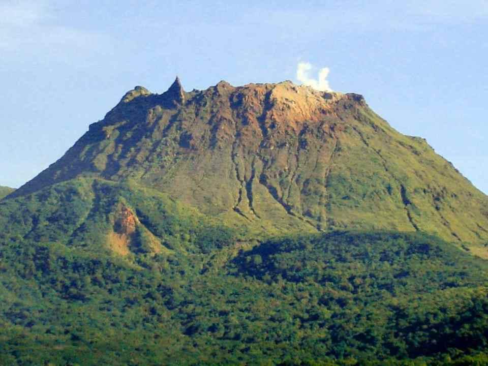 Vulcão La Soufrière