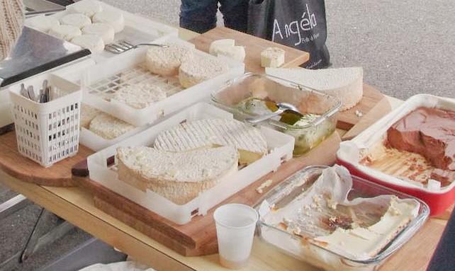 fromages de brebis réalisés par Marie Christine Juhel