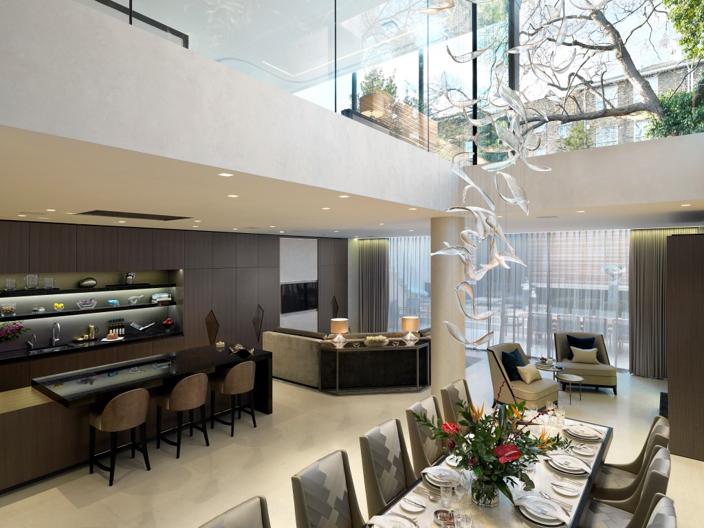 Dining Area 10 Luxury Kitchen Dining Spaces By Property Experts