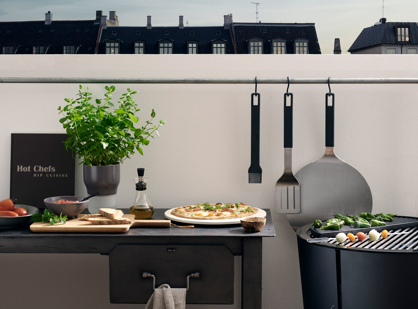 Eva Solo Grill Go Outside Why You Need An Outdoor Kitchen This Summer