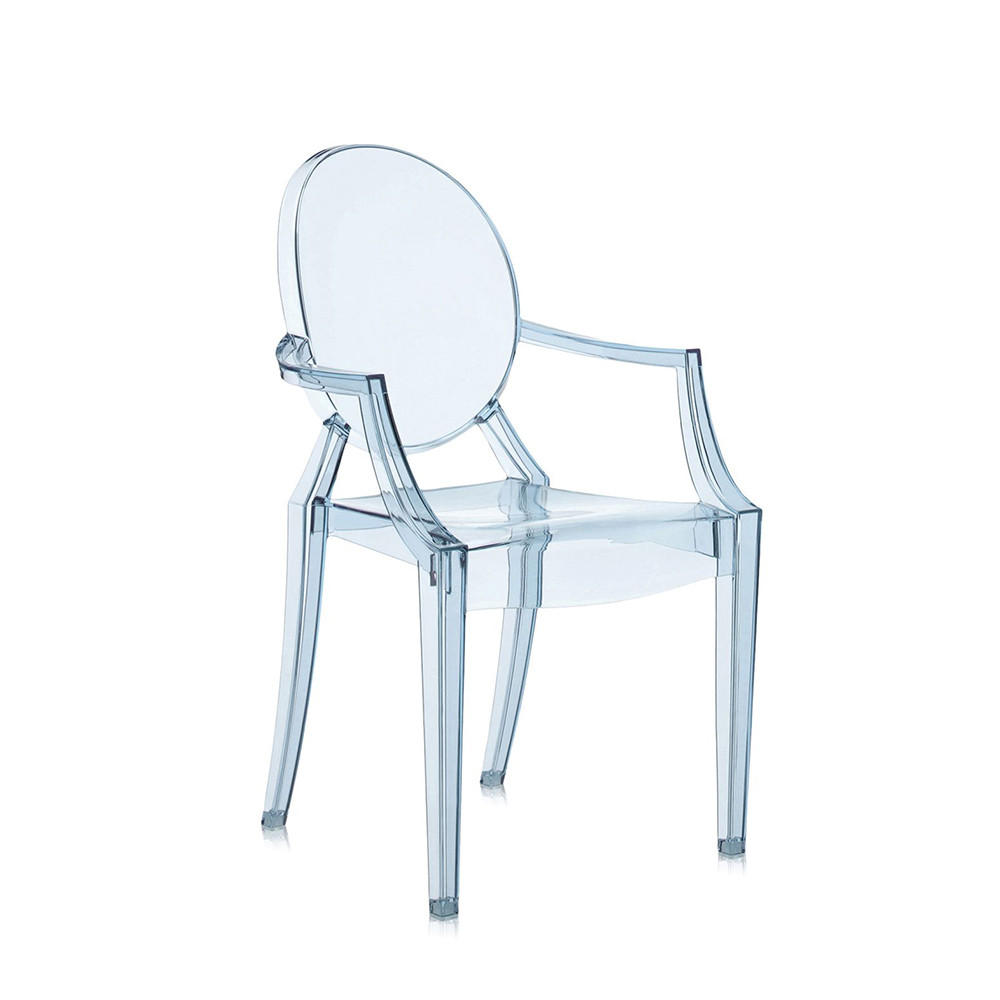 Philippe Starck Ghost Chair Loulou Ghost Children S Chair Light Blue