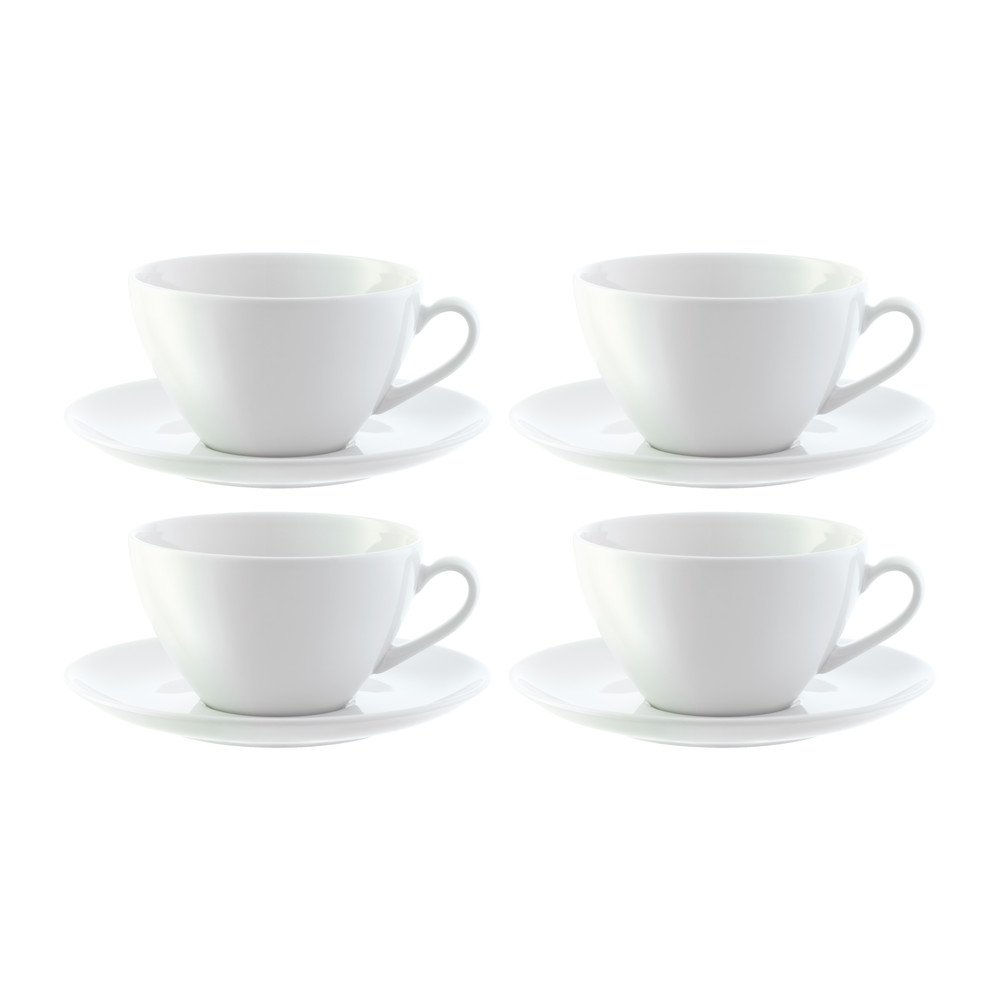 Cappuccino Cups Australia Dine Curved Cappuccino Cups Saucers Set Of 4