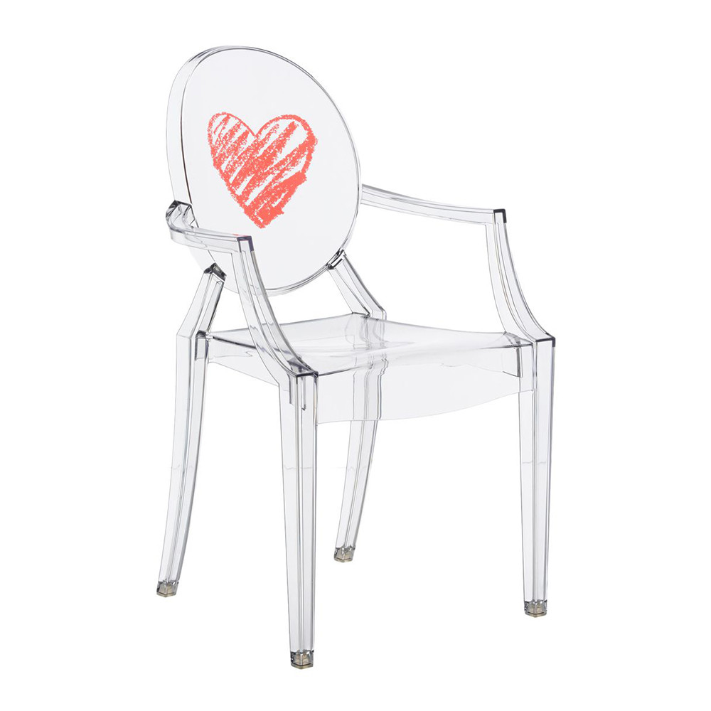 Philippe Starck Ghost Chair Buy Kartell Children S Lou Lou Ghost Chair Heart Amara