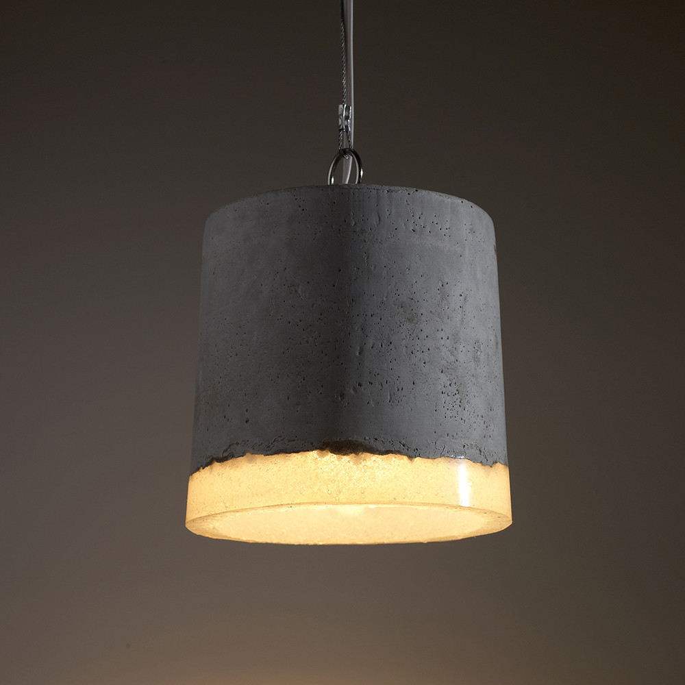Beton Lamp Buy Serax Beton Round Ceiling Lamp - Large | Amara