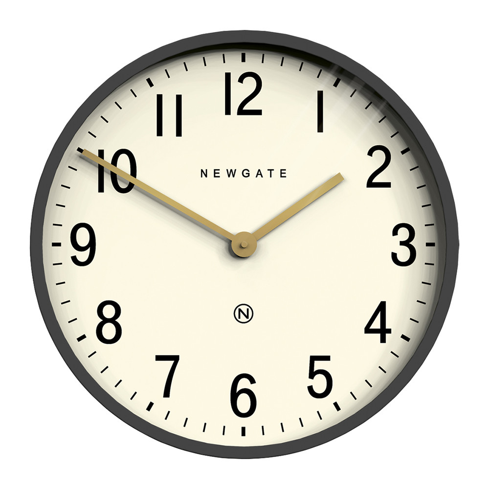 Buy Clock Mr Edwards Wall Clock Matt Blizzard Gray