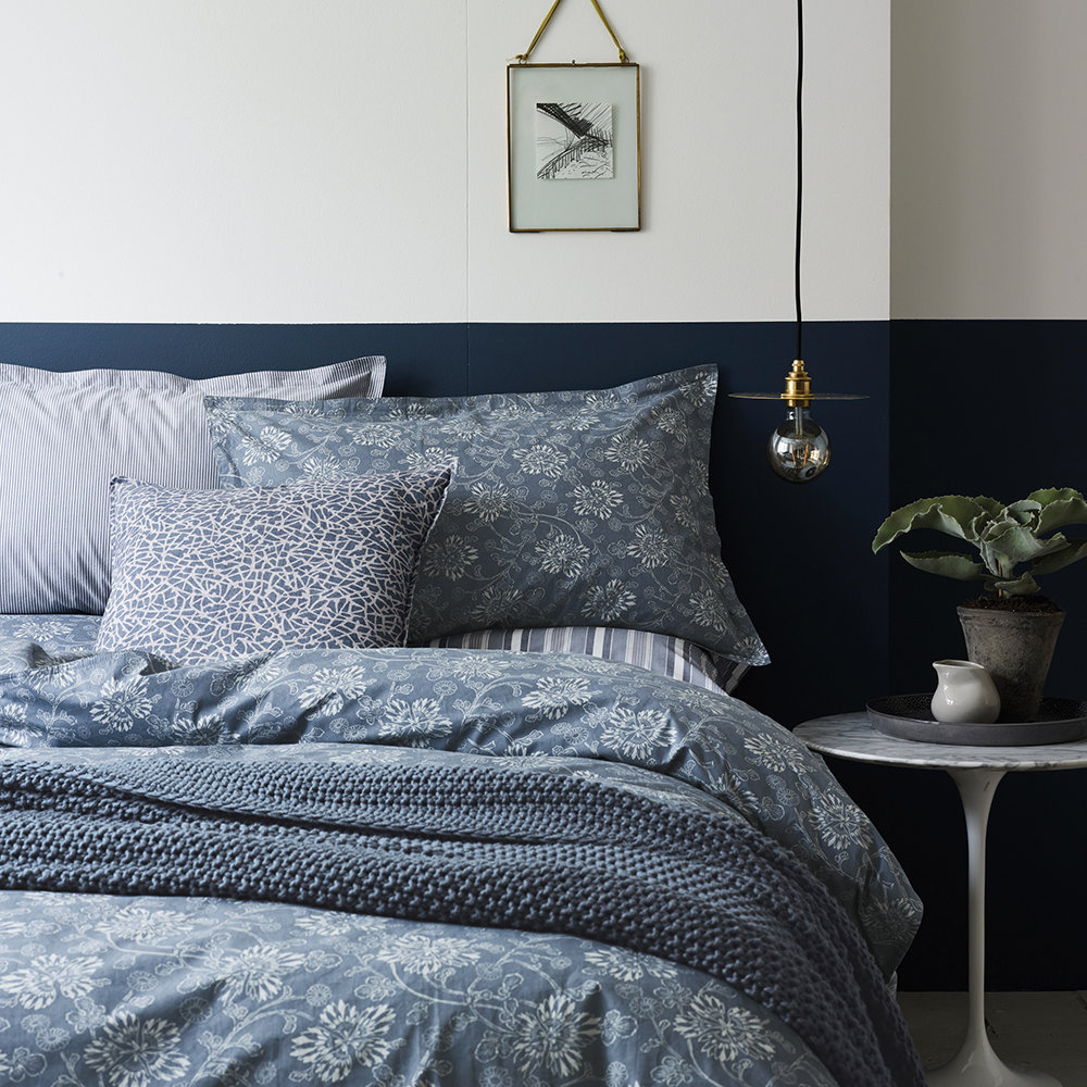 Buy Duvet Cover Buy Murmur Kiku Duvet Cover Copenhagen Blue Amara