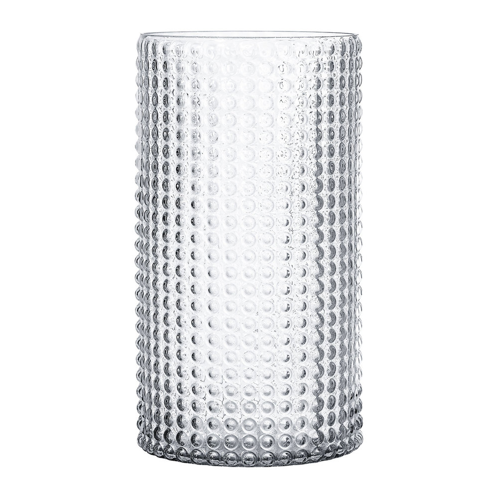 30cm Buy Bloomingville Dotted Cylindrical Glass Vase Clear 30cm Amara