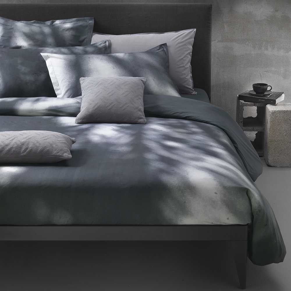 Buy A Bed Flora Shadow Bed Set Blue Double