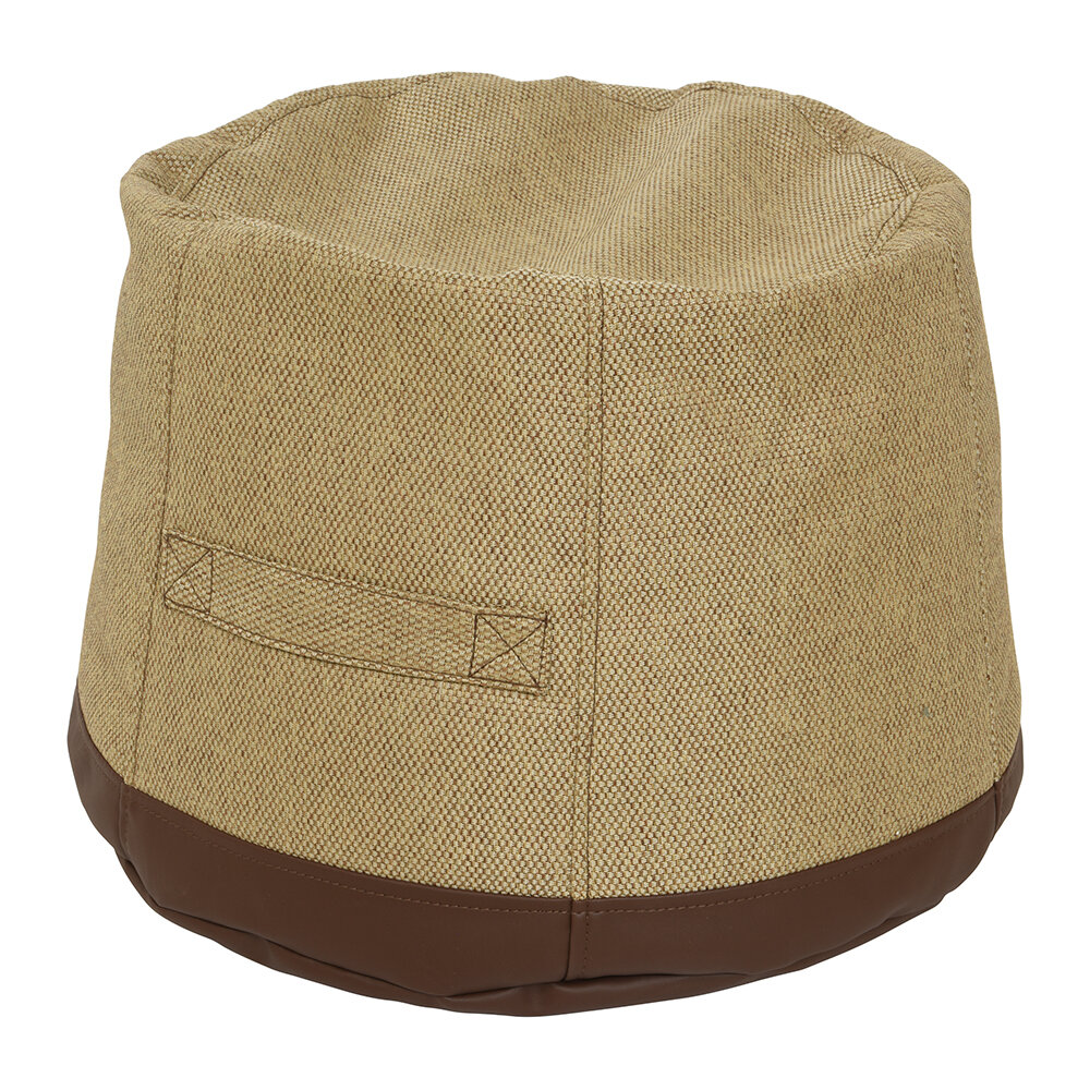 Buy Amara Outdoors Outdoor Pouf Brown Amara