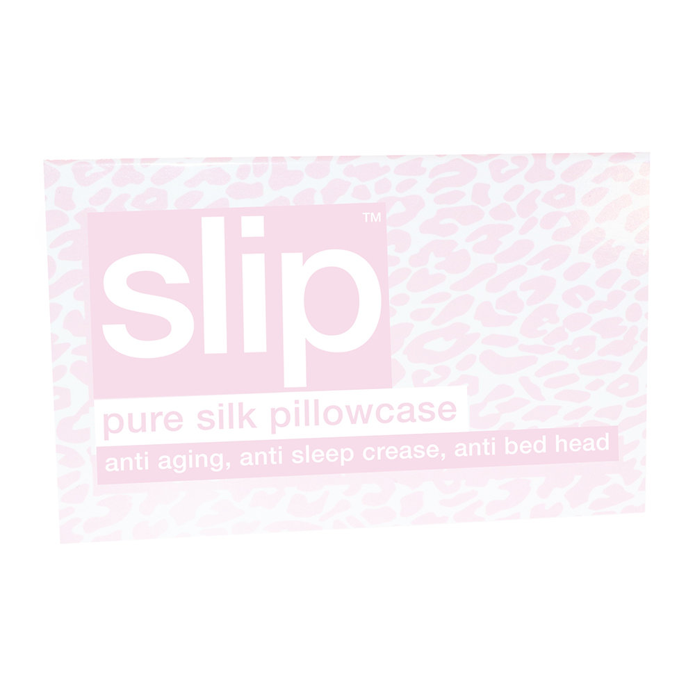 Slip Pillowcase Buy Slip Limited Edition Leopard Print Pillowcase 51x76cm Pink Amara
