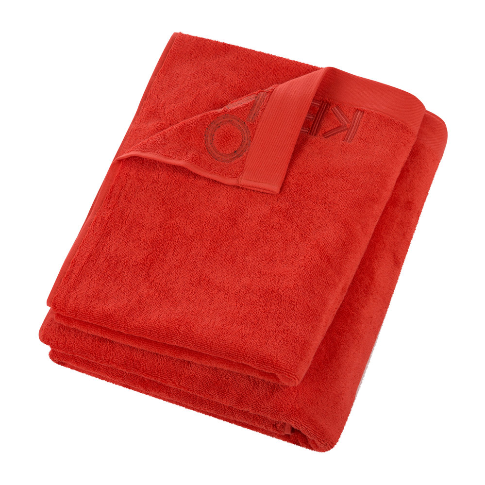 Buy Kenzo Iconic Towel Red Hand Towel Amara