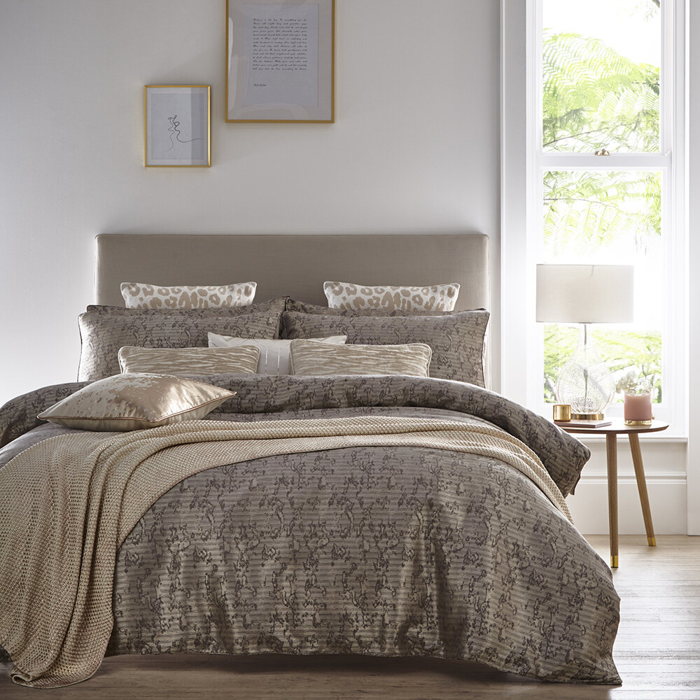 Buy Tess Daly Lux Duvet Set Natural King Amara