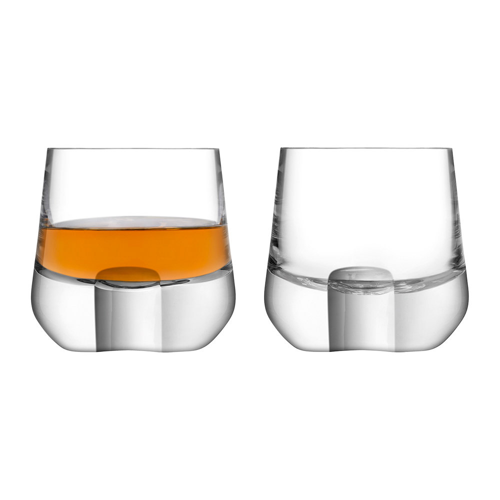 Verre De Whisky Acheter Lsa International Verre à Whisky Cut Lot De 2 Amara