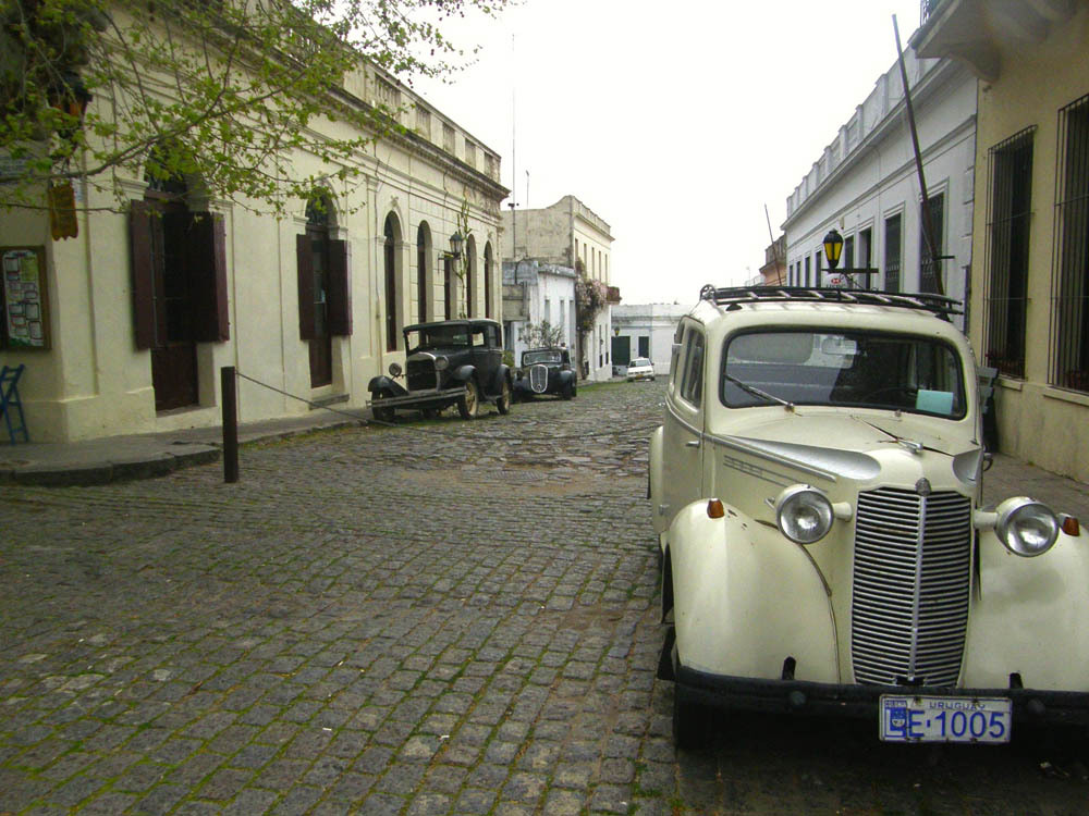 Old Cars - Colonia, Uruguay - Photo