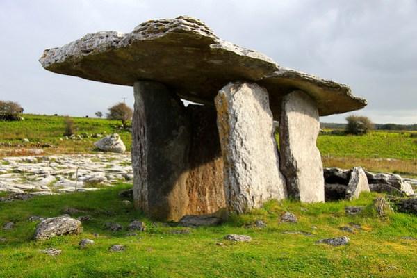 Poulnabrone dolmen portal tomb - The Burren, Ireland