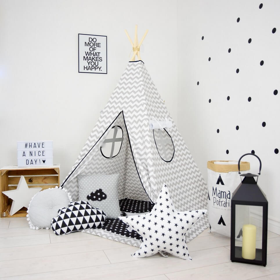 Teepee Kids Chevron Children S Teepee Tent