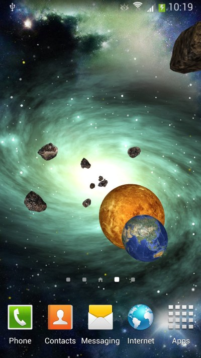 Space 3D Live Wallpaper for Android | Amax Software