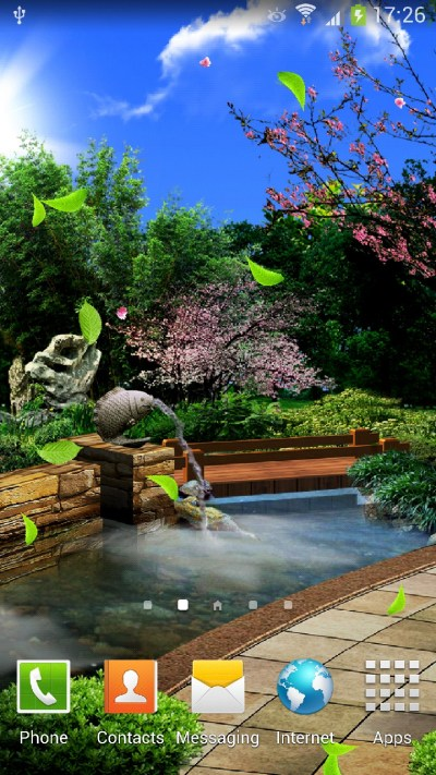 Eastern Garden Android Live Wallpaper | Amax Software