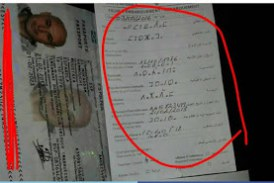 Geweigerd bij Marokkaanse douane vanwege invullen van toegangskaart in Tamazight