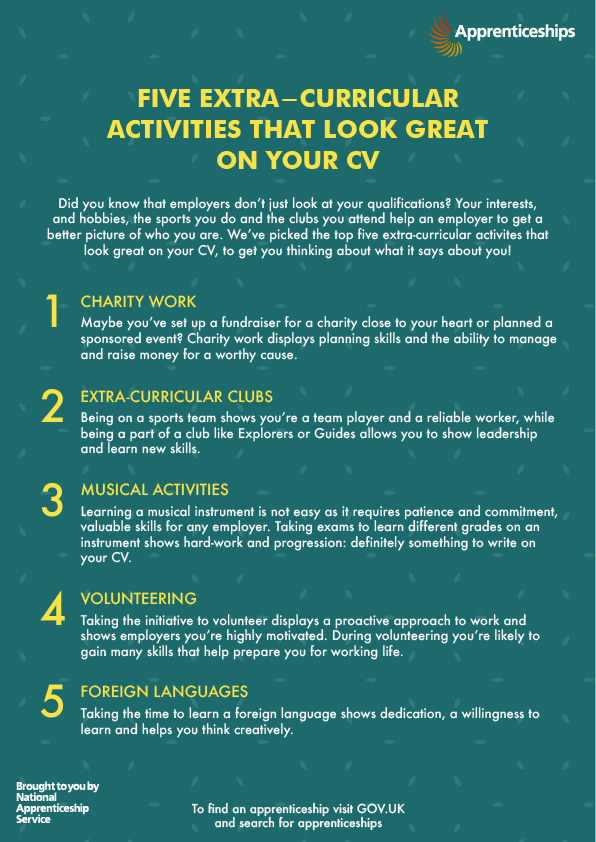 5 Extra-curricular activities that look great on your CV - Amazing