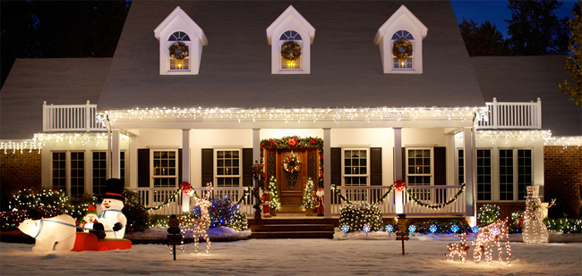 Christmas Decor Without Just Lights - christmas decorations outdoors