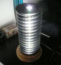 CD stack lamp | My Diy Blog