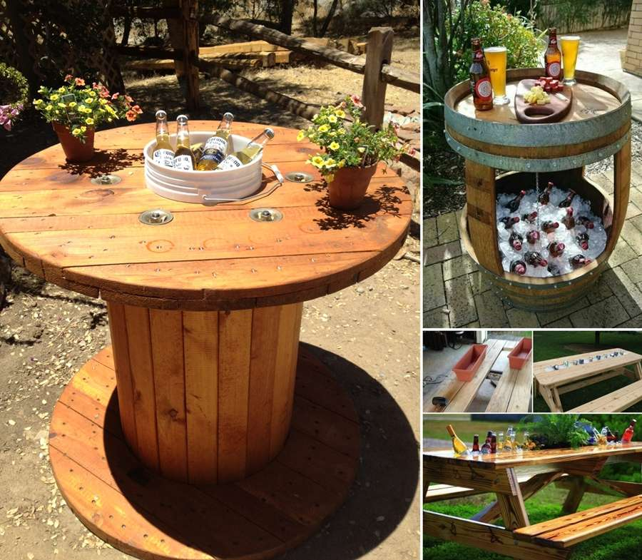 Cooler Couchtisch 15 Awesome Cooler Table Designs Perfect For Summer Parties