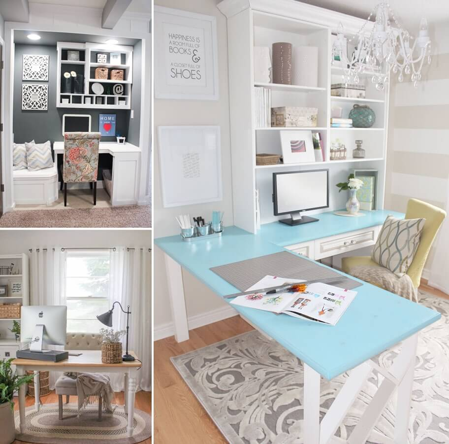 10 Chic And Beauteous Home Office Desk Ideas