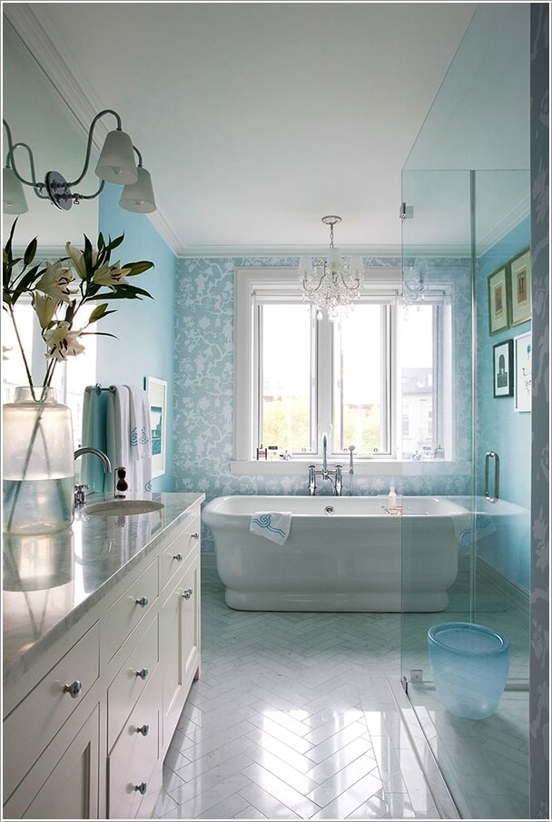 Bathroom Mirror With Storage 13 Amazing Accent Wall Ideas For Your Bathroom