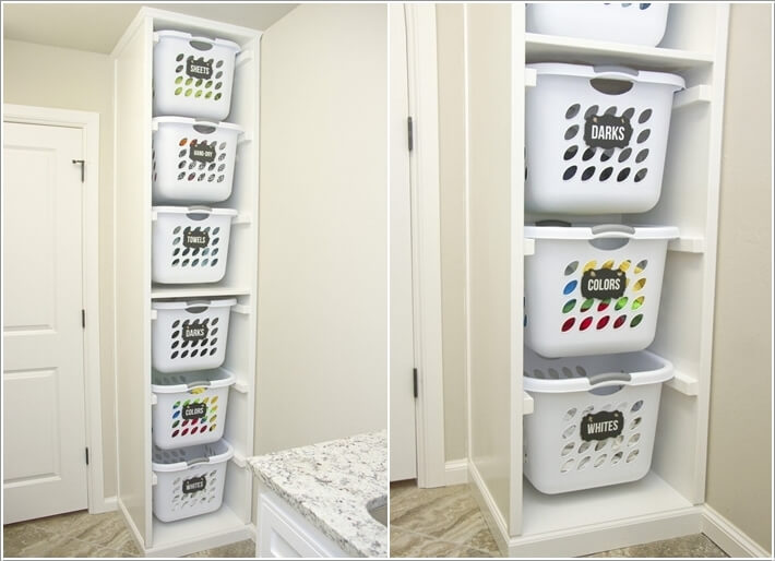 Ikea Ironing Board Keep Your Laundry Room Tidy With A Laundry Sorter