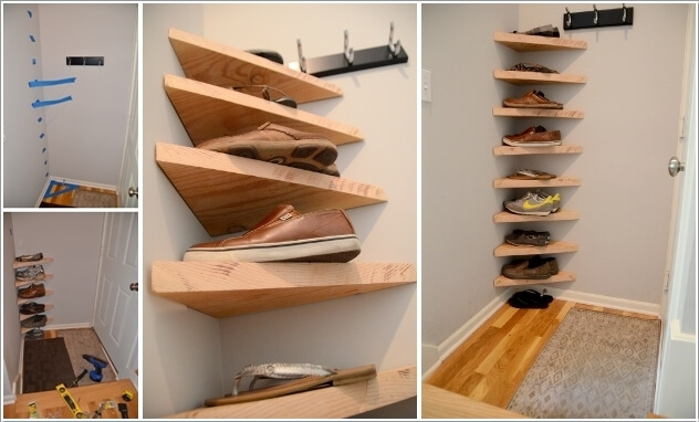 Ikea Lack Wall Shelf Unit 15 Clever Narrow And Vertical Shoe Storage Ideas