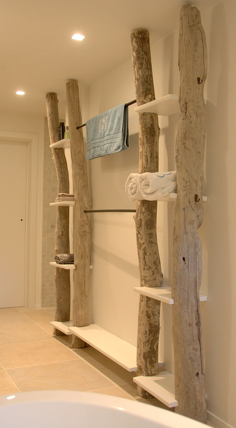 Garderobenständer Aus Holz Create Wall Storage In Your Bathroom With Diy Shelves