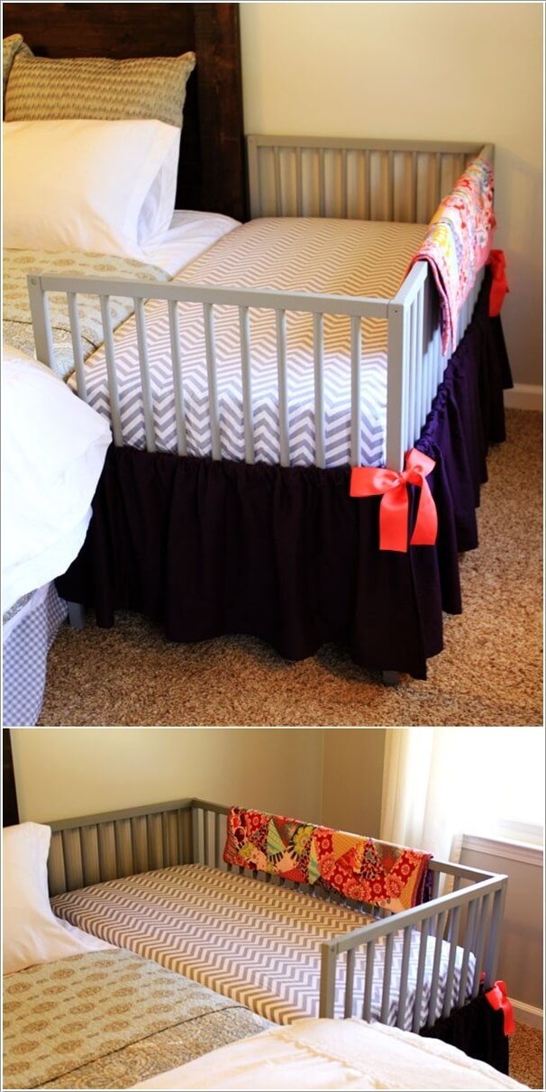 Ikea Bed Rail 10 Wonderful Diy Co-sleeper Crib Ideas