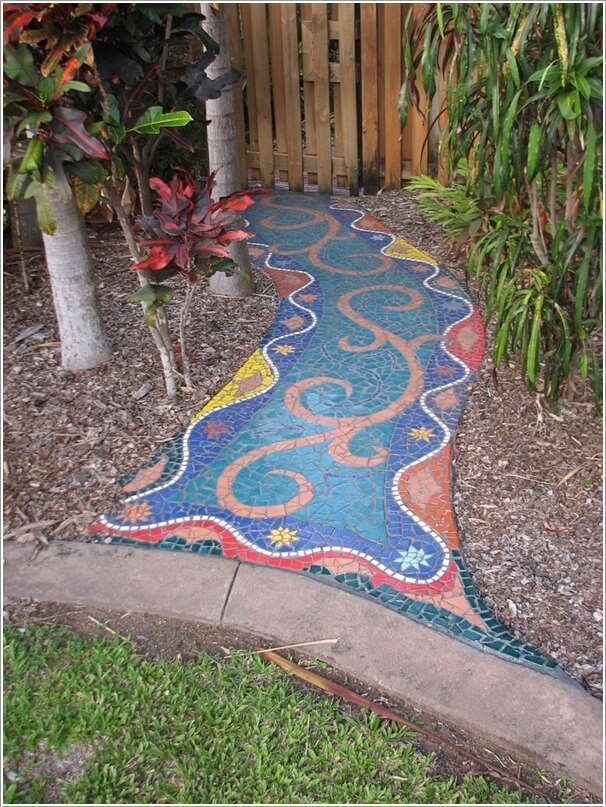 Mosaik Pvc 12 Diy Mosaic Garden Decor Projects