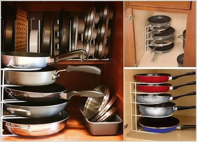 Deep Kitchen Cabinet Storage Ideas Clever Ideas To Store Pots And Pans
